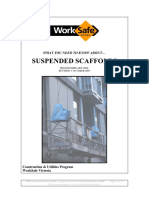 Suspended Scaffolds