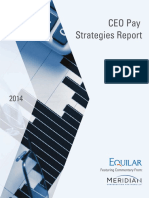 CEO Pay Strategies Report