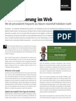 Personalisierung im Web