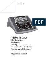 003224 YSI 3200 Operations Manual RevF