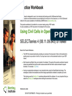 Using Civil Cells in OpenRoads-Practice Workbook-TRNC01645-10002