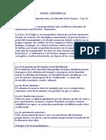 CFIL Leyes científicas