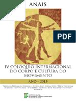 Anais Do Coloquio Corpo e Cultura de Movimento 2015 02
