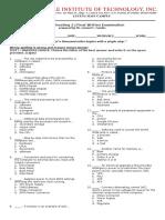 Tr2_final Exam Written
