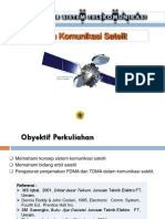 11. Sistem Komunikasi Satellit