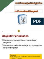 12. Sistem Komunikasi Bergerak