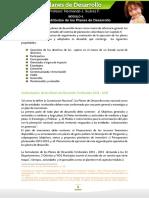 Atributos de Los Planes de Desarrollo
