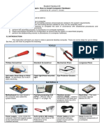 Student Handout 3 How to Assemble and Disassemble PC