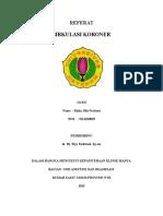 REFERAT Anestesi - Sirkulasi Koroner