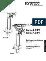 Torqeedo Cruise RT Manual