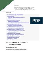 Histoire du Cameroun.doc