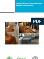 Industrial Tile and Paver Applications Technical Design Manual