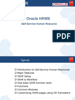 Oracle SSHR