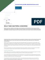 Bulk Tank Bacterial Count