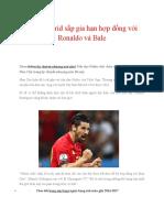 Real Madrid Sắp Gia Hạn Hợp Đồng Với Ronaldo Và Bale