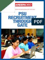 PSU Recruitment Through GATE- Preparation Guidelines and PSU Details
