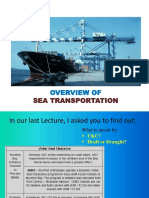 Lecture 1b - Overview Sea Transport