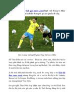 Ket Qua Euro 2016 Thuy Dien 0-1 Bi