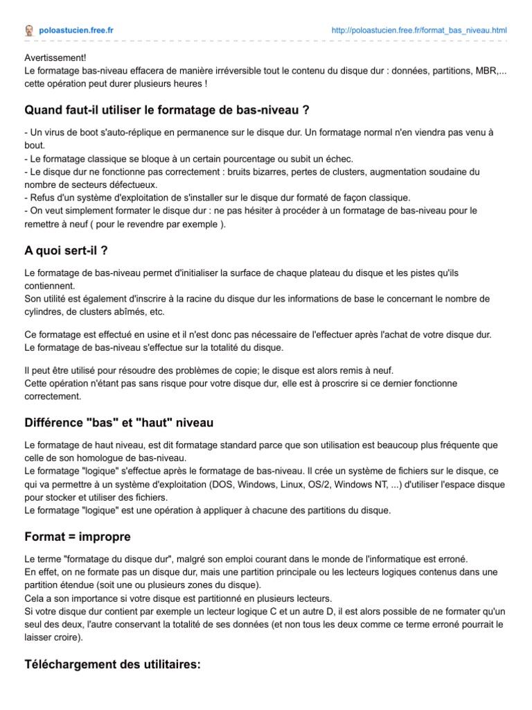 LOFORMAT FR TÉLÉCHARGER