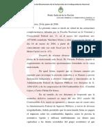 López y Echegaray, a indagatoria por la multimillonaria evasión a la AFIP
