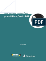 Manual de Instruções RGR - Procel Sanear - Agosto-2010
