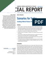 USIP Scenarios for Sudan