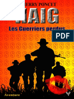 EXTRAIT du roman « HAIG - Les Guerriers perdus » de Thierry Poncet
