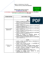 13.10.2012 - Propuneri Teme Licenta ZI Si ID - MK, ECTS, AI - 2012-2013