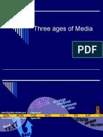 Three Ages of Media