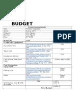 ident   budget