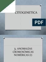 CITOGENETICA -Alt Numericas 6 y 7