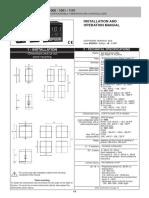 Gefran Manual