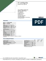 eBM PAPST R3G595AB