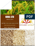 KRBL Research Report 20062016