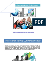 Cisco Certification Exams 642-996 Braindumps