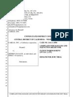 Cabeau v. Pavacic - Complaint