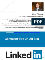 Linkedin Presentation - 13 Tips to Be a All Star