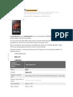 Sony Xperia Zlespecificaciones