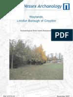 Waylands, Croydon