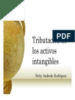 Tributacion Intangibles