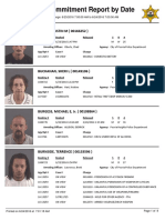 Peoria County Jail Booking Sheet 6/24/2016