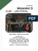 Brumario N° 3 - Nov 2010
