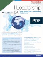 Digital Leadership a Mini MBA1