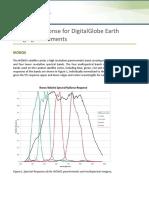 DigitalGlobe Spectral Response 1