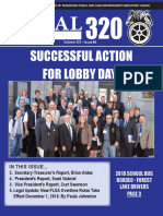 Local 320 Summer Newsletter 2016