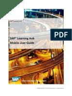 SAP Learning Hub Mobile User Guide En