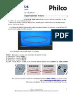 Boletim Informativo Técnico Travamento Dos Botões Tv Ph14