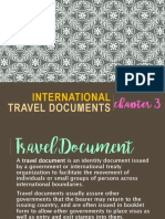Chapter 3 - International Travel Documents