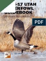 2016-17 Utah Waterfowl Guidebook