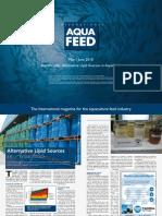 Alternative Lipid Sources in Aquafeeds